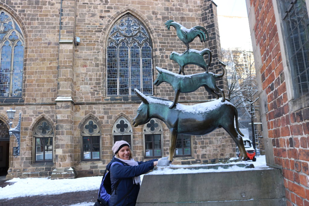 Bremen Town Musicians good luck